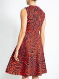 Calvin Klein 205w39nyc - Sleeveless Printed Midi-dress - Women