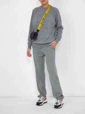 Givenchy - Cashmere Track Trousers - Women