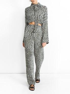 Loewe - Lurex Knit Trousers - Women