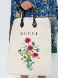 Gucci - Drawstring Tote With Chateau Marmont Print - Women