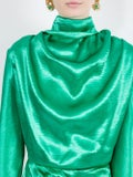 Christopher Kane - Tie-back Satin Dress - Women