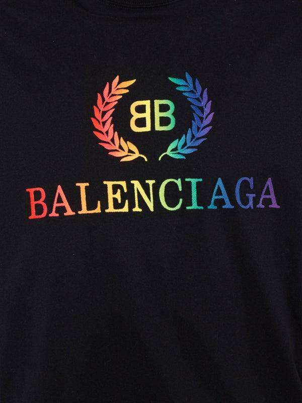 c19bdbed374b Balenciaga - Rainbow Logo T-shirt - Men