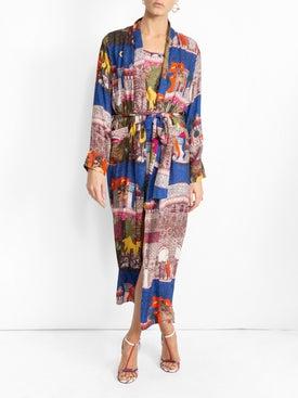 Chufy - Camel Reversible Slip Dress - Mini