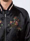 Saint Laurent - Floral Embroidered Teddy Jacket - Men