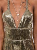 Dundas - Gold Sequin Jumpsuit - Women