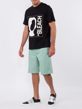 bleach graphic T-shirt