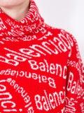 Balenciaga - Wave Logo Wool Pullover - Women