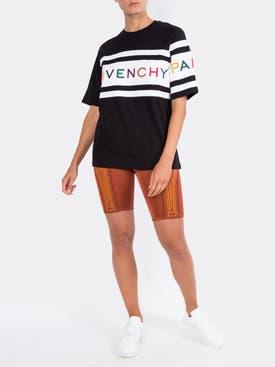 Givenchy - Multicolor Logo Tshirt Black/multicolor - Women
