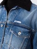 Heron Preston - Cropped Raw Edge Denim Jackets - Jackets & Coats