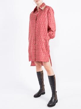 Gate printed mini dress