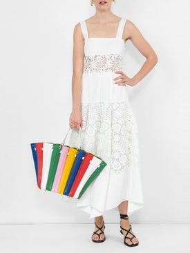Sara Battaglia - Rainbow Plisse Shopper - Women