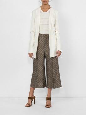 Jacquemus - Deep V Long-sleeved Blazer Jacket - Women