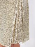 Burberry - Monogram Print Silk Pleated Skirt - Women