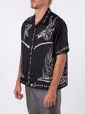Givenchy - Black Silk Dragon Print Shirt - Men