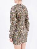 Attico - Dolman Sleeved Minidress - Women