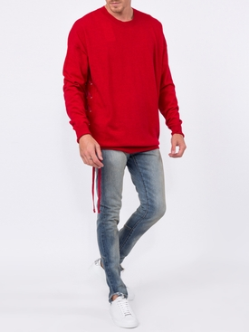 lace-up side jumper