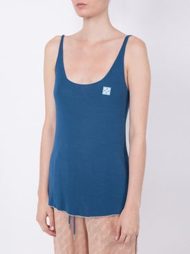 Off-white - Off-white X The Webster Exclusive Ribbed Knit Tank Top - Women