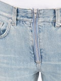 Givenchy - Flared Distressed Light Blue Jeans - Denim