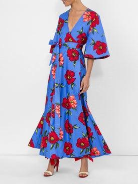 Rebecca De Ravenel - Floral Print Wrap Dress - Women