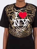 Versace - New York-print T-shirt - Women
