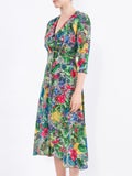 Saloni - Dotty Berry Day Dress - Women