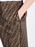 Fendi - Cropped Palazzo Trousers - Women