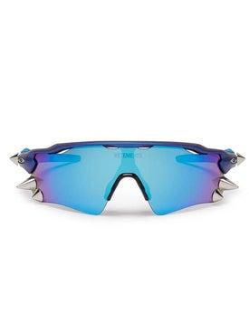Vetements - Vetements X Oakley Spike 200 Blue Sunglasses - Women