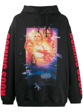 Vetements - Vetements X Star Wars Graphic Poster Hoodie - Men