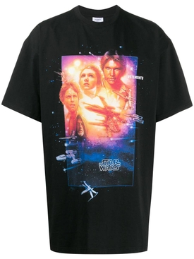 VETEMENTS X STAR WARS over-sized graphic t-shirt