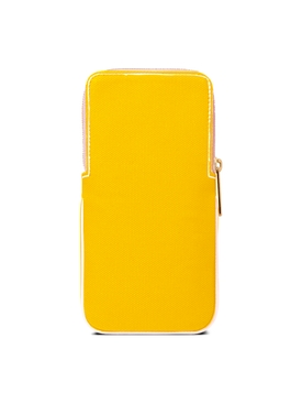 yellow and pink GLASSES CASE