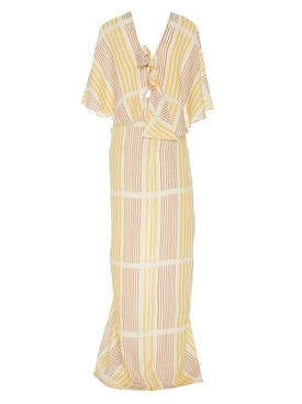Johanna Ortiz - Striped Linen Paradise Dress - Women