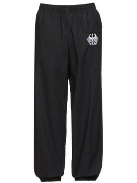FLAG TRACKSUIT PANTS BLACK