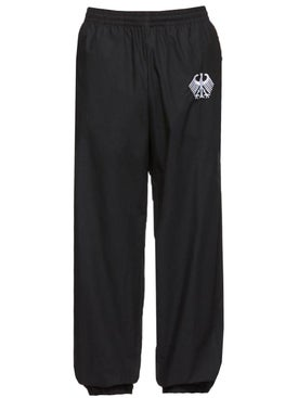 Vetements - Flag Tracksuit Pants Black - Men