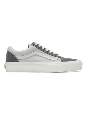 Vans - Pearl & Grey Ua Og Old Skool Lx Sneakers - Low Tops