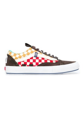 Vans - Ua Old Skool Cap Lx Check And Suede - Men