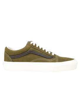 Vans - Green & Brown Old Skool Lx Sneakers - Men