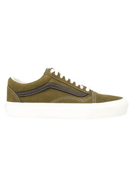 Vans - Green & Brown Old Skool Lx Sneakers - Low Tops