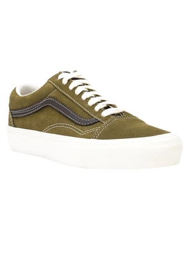 Green & Brown Old Skool LX Sneakers