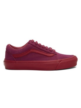 Vans - Pink Nubuck Leather Old Skool Lx Sneakers - Low Tops