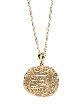 Azlee - Voyager Large Coin Necklace - Women