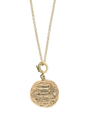 Voyager small coin necklace