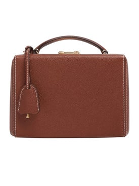Mark Cross - Grace Small Box Bag Acorn - Women