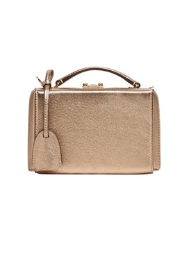 Mark Cross - Grace Mini Box Bag Gold - Women