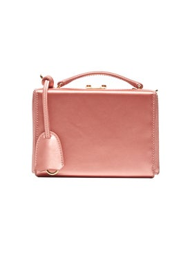 Mark Cross - Grace Mini Box Bag Rosa Antico Silk - Women