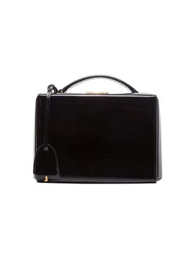 Mark Cross - Grace Mini Box Bag Black Patent - Women