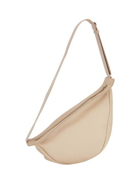 The Row - Neutral Slouchy Banana Bag Large - Women