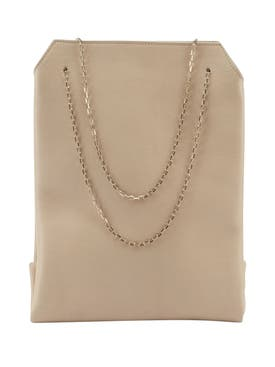 The Row - Small Leather Lunch Bag Cream - Women