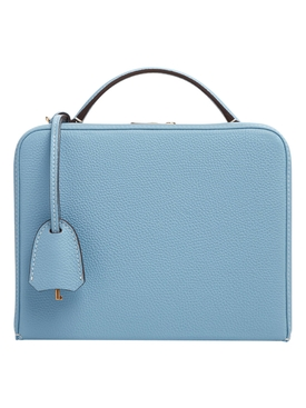 Powder blue grace box bag