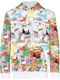 Comme Des Garcons Shirt - Comic Book Print Hoodie - Men