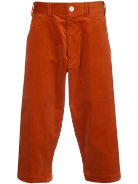 corduroy capri shorts
